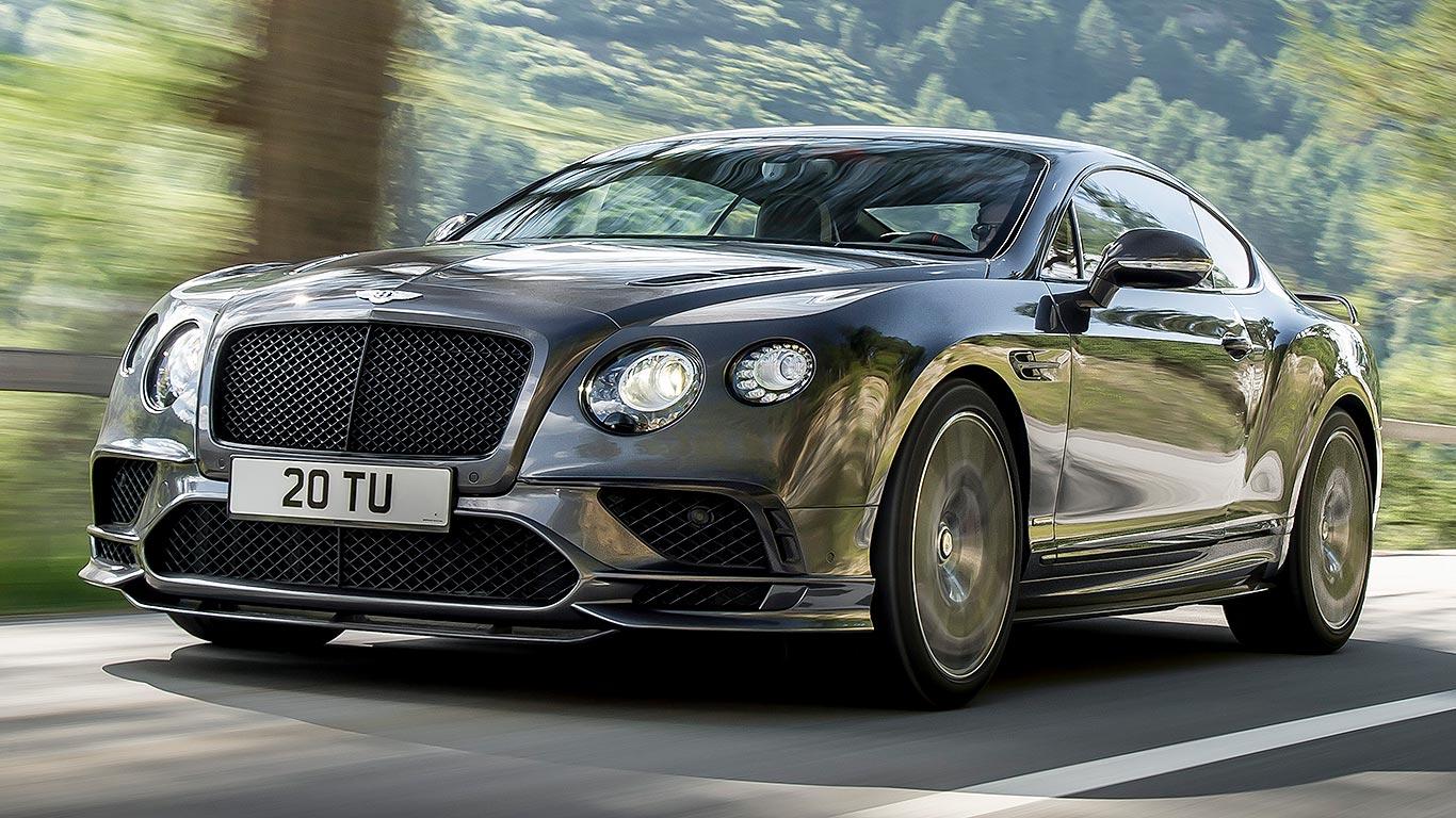Bentley Continental GT Supersports 2017