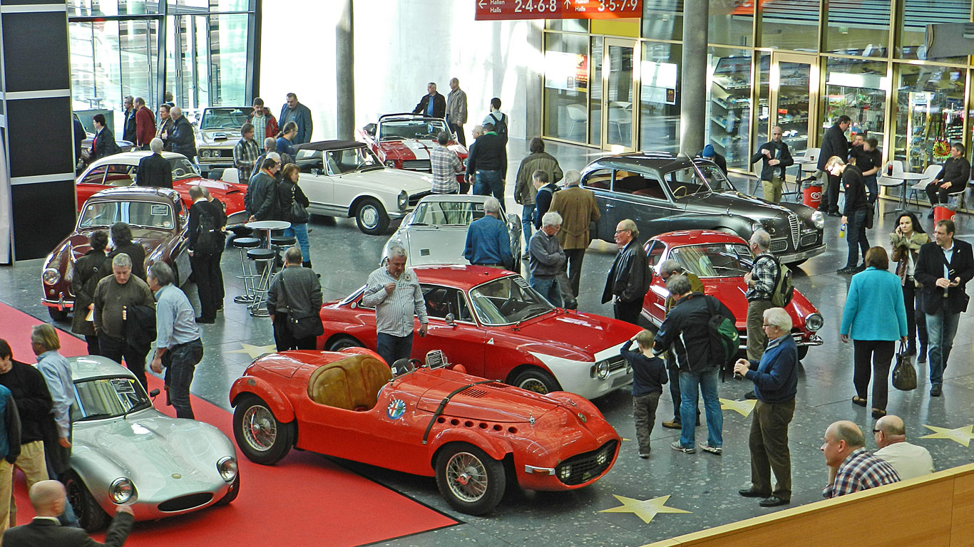 Retro Classics, Stuttgart, Germany (2 - 5 March)