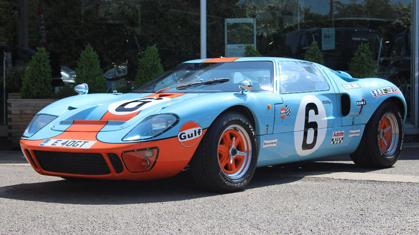 Ford GT40 Evocation: £45,000 - £60,000