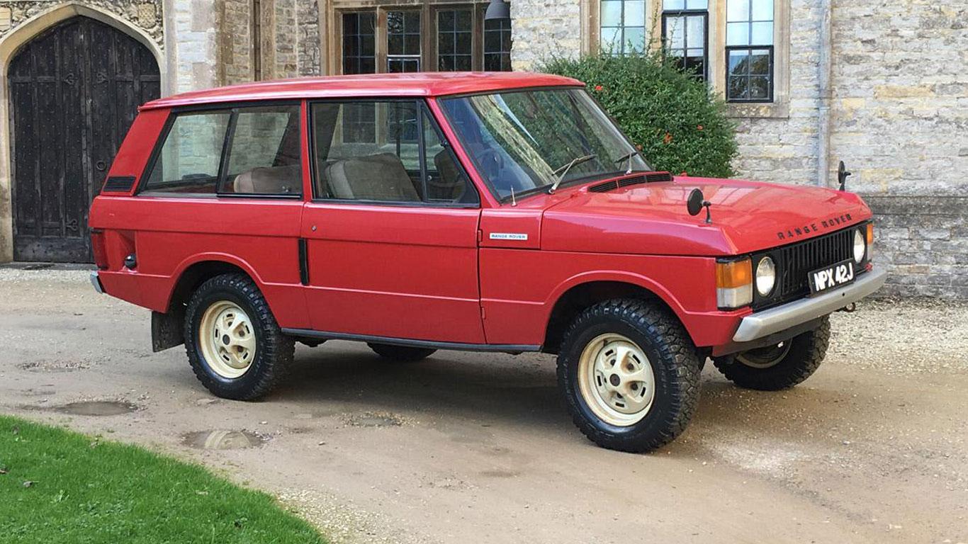 Range Rover: £18,000 - £22,000