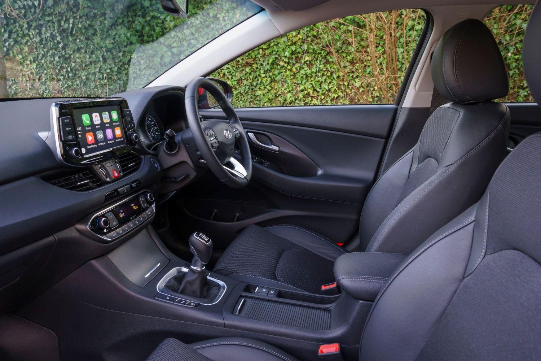 Hyundai i30 cabin