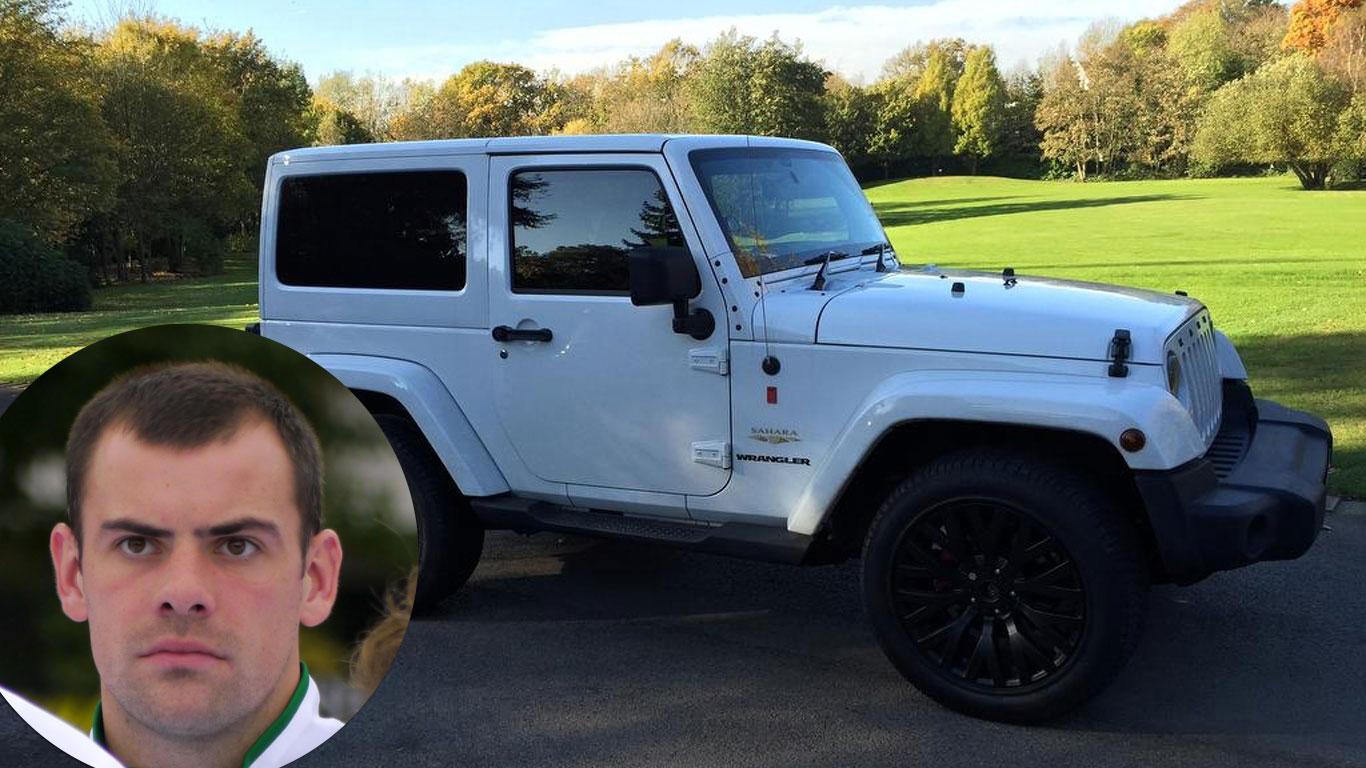 Darron Gibson: Kahn Jeep Wrangler