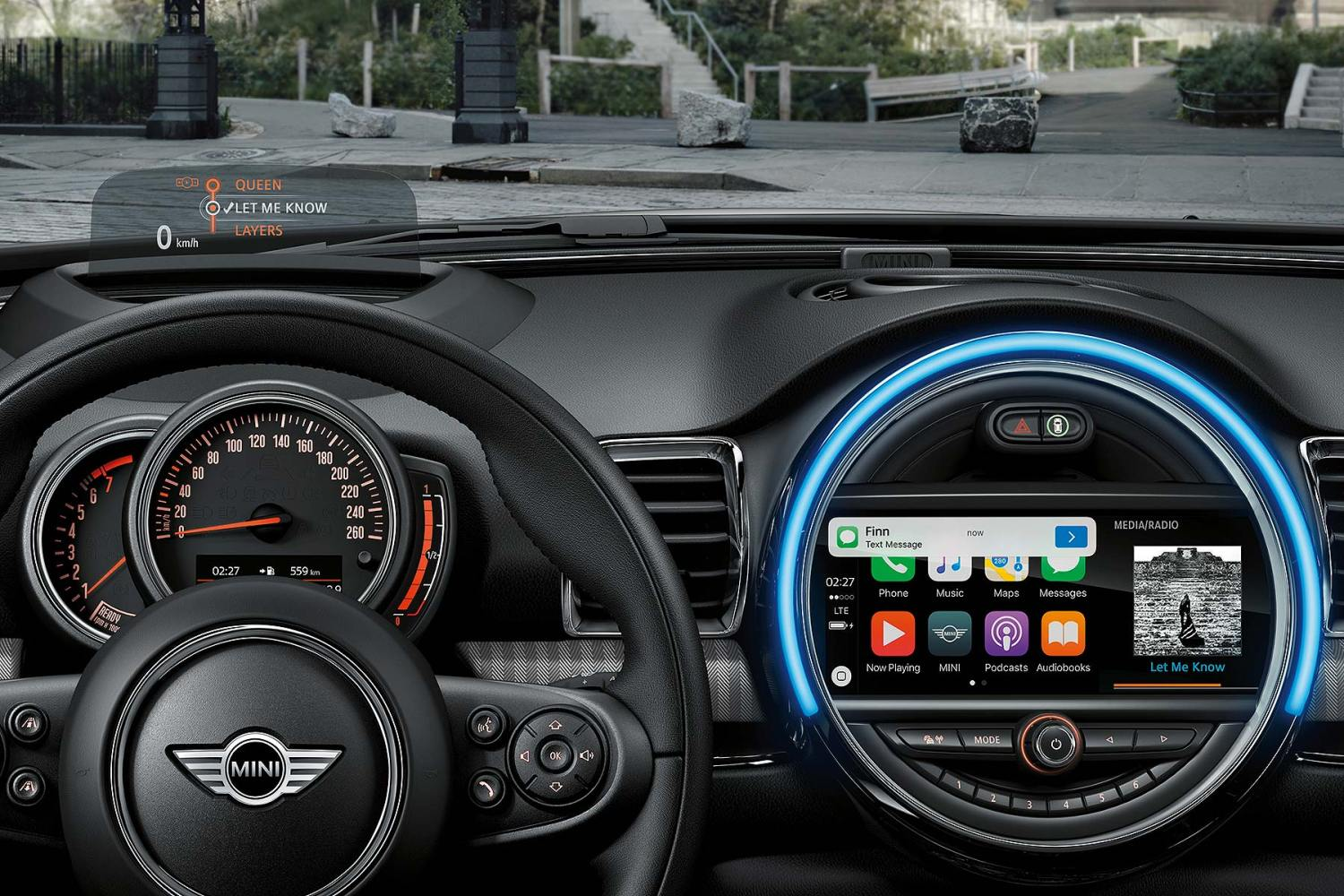 Mini Apple CarPlay 2017