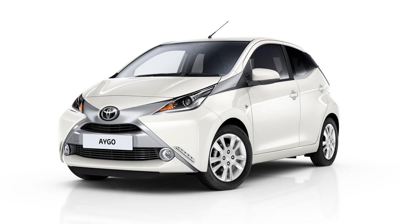 8. Toyota Aygo 1.0 X 3dr