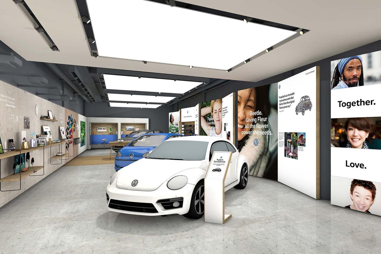 Volkswagen Bullring Birmingham store