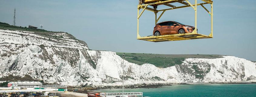 Ford Fiesta arrives in Britain