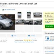 'Celebs' go crazy for £550 Skoda Fabia on Auto Trader