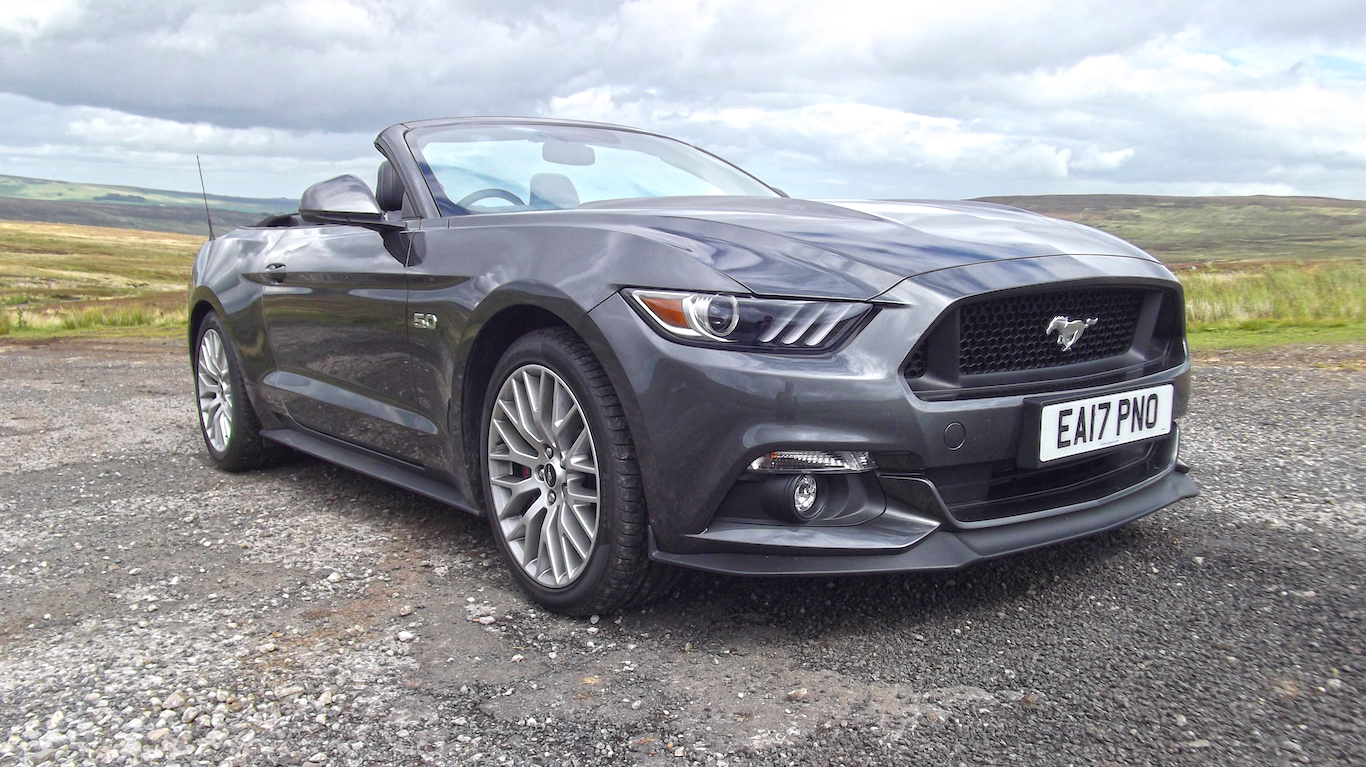 Ford Mustang V8 GT review: driven before it's banned