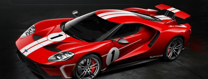 Ford GT '67 Heritage Edition celebrates Le Mans win