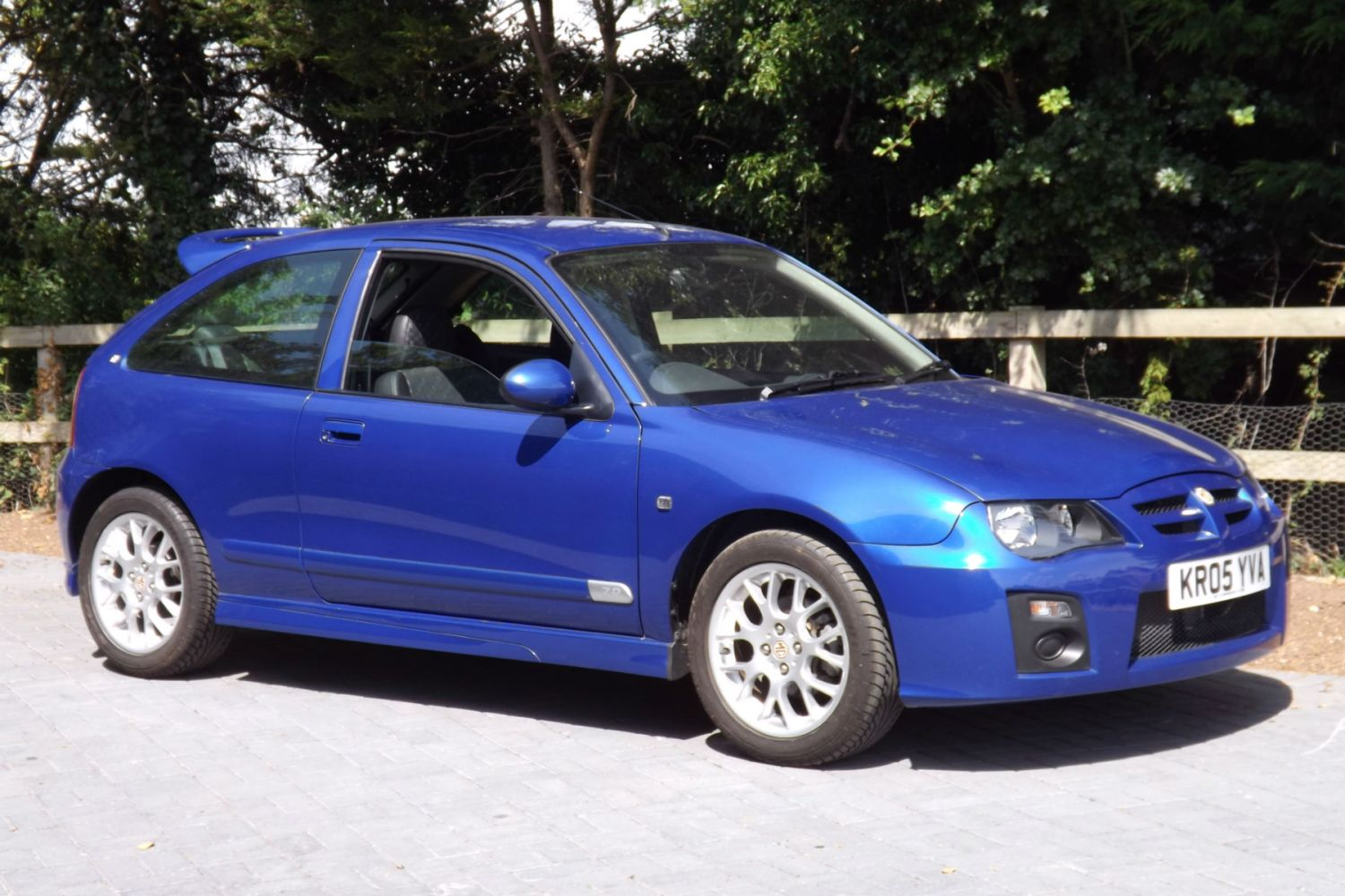 This 2005 MG ZR has covered just 759 miles from new