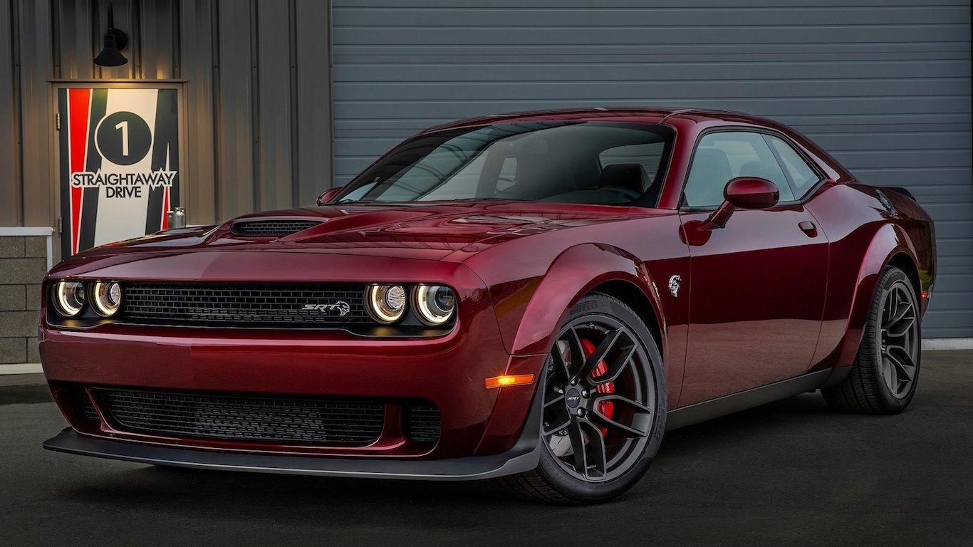 17. Dodge - @dodgeofficial - 2.1m