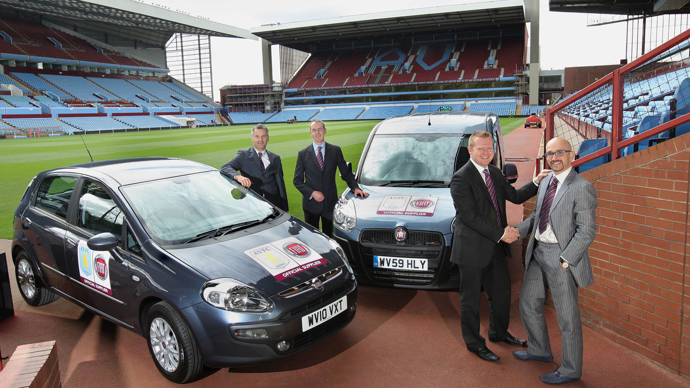 Fiat and Aston Villa