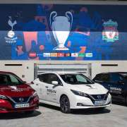 Nissan at Champions League Final