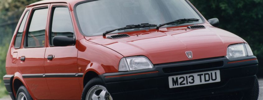 Footballers told: improve or drive a Rover Metro