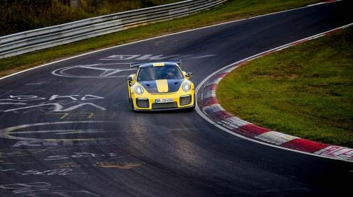 Porsche 911 GT2 RS Nurburgring record run 2017