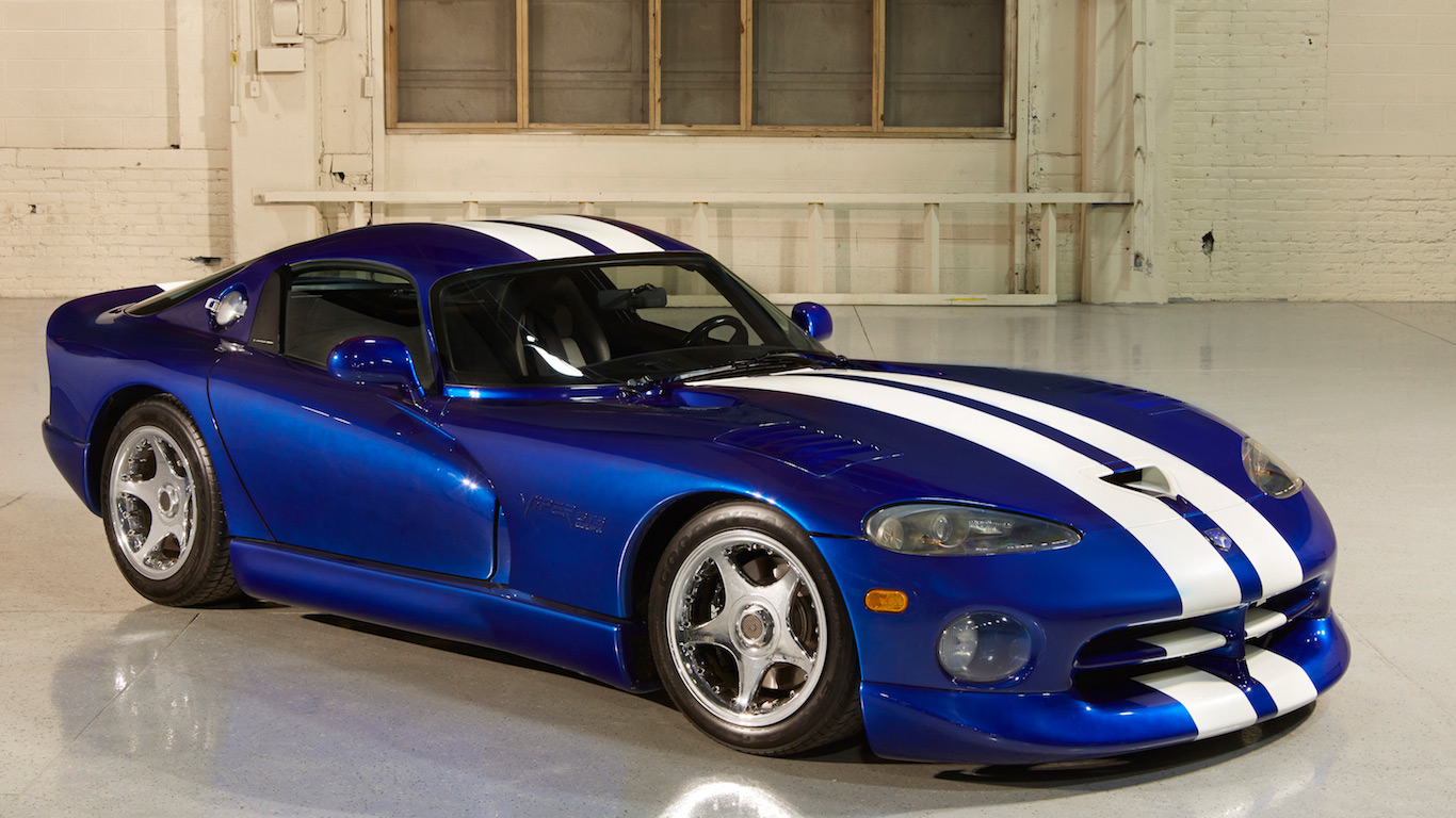 In pictures: Snakes alive! The story of the Dodge Viper