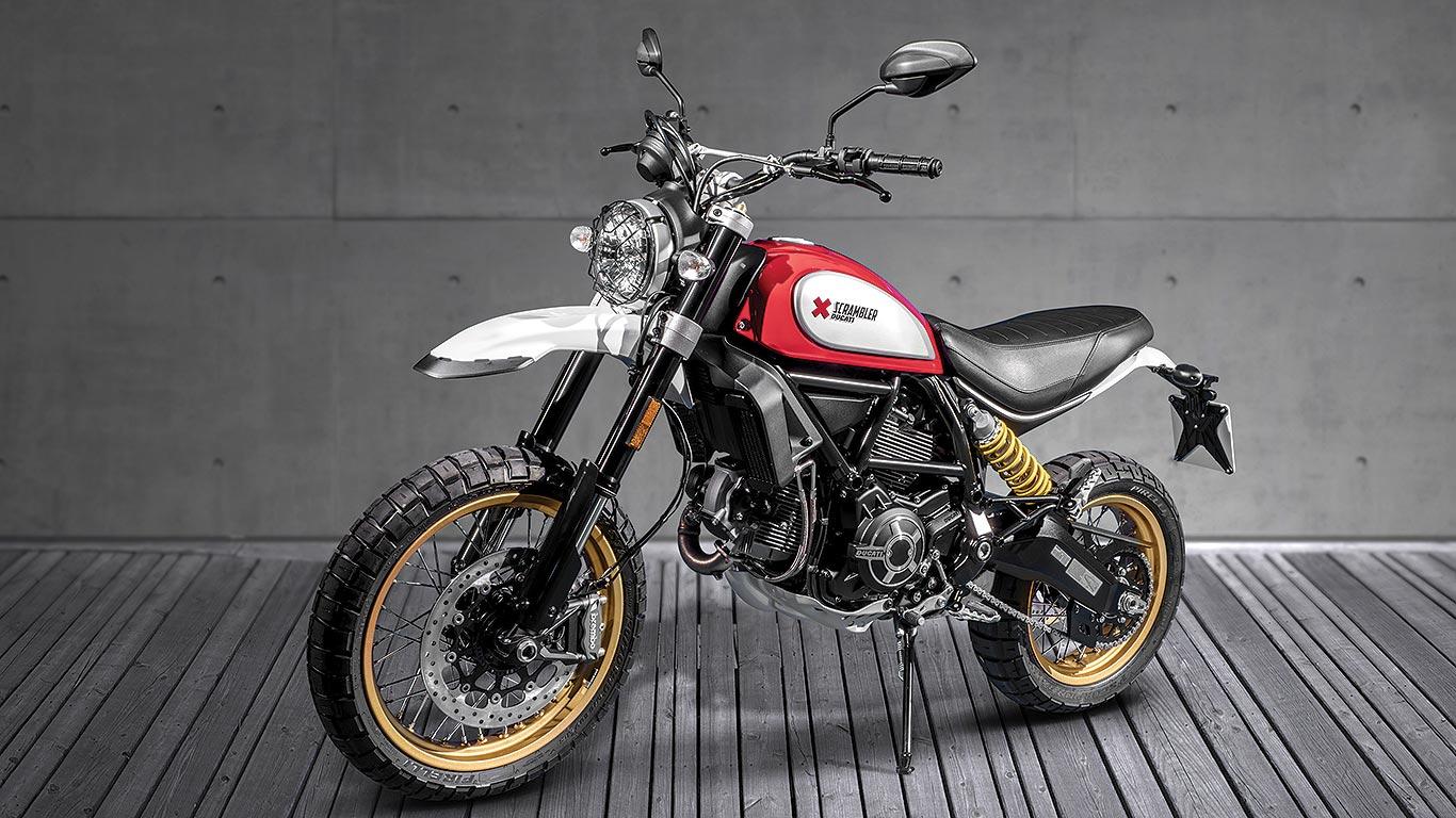 Best Retro Ducati Scrambler Desert Sled