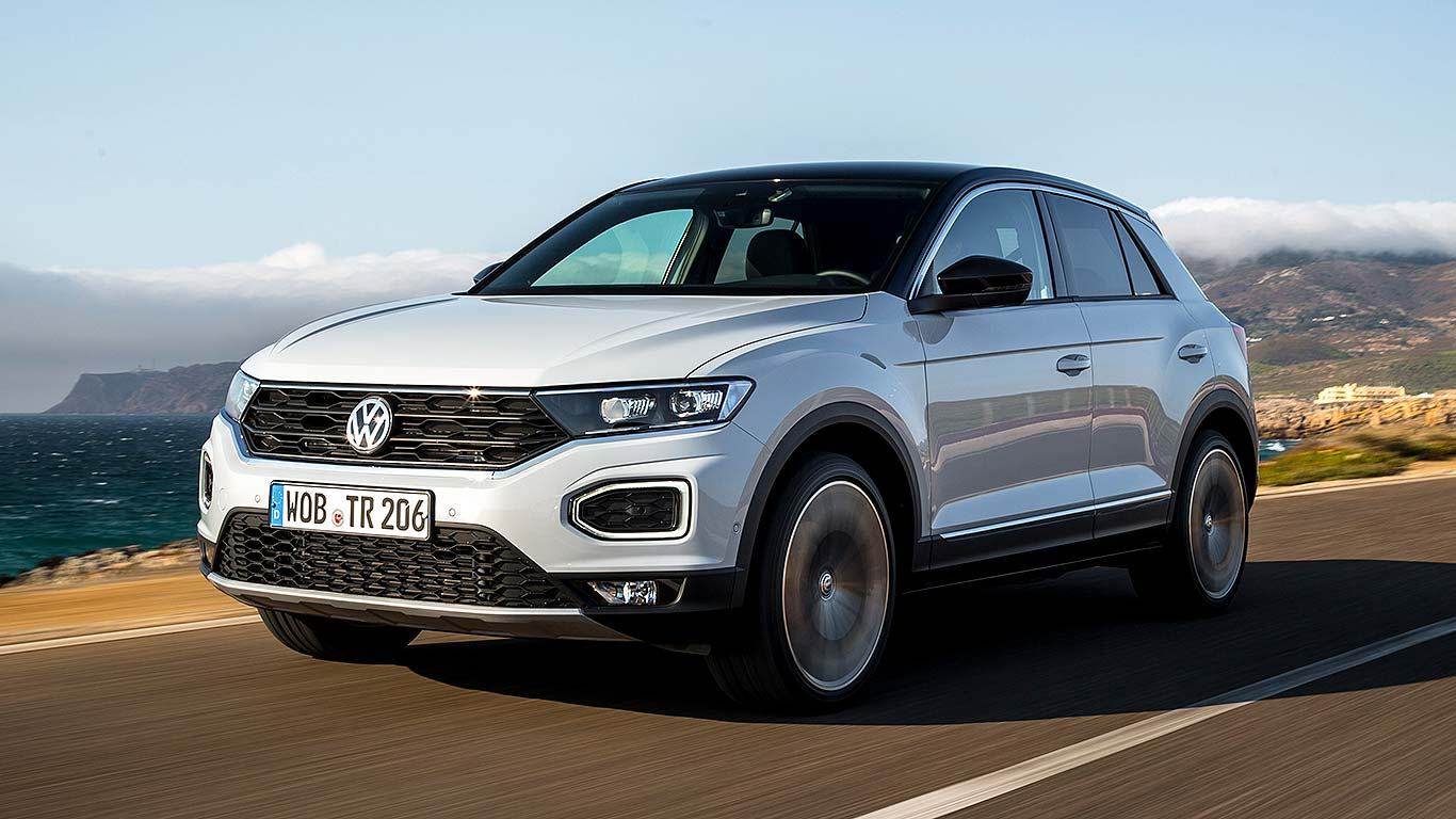 VW Golf SUV Comes As The 2018 VW T-Roc >> Volkswagen T Roc 2018 First Drive Review Vw Rocks It