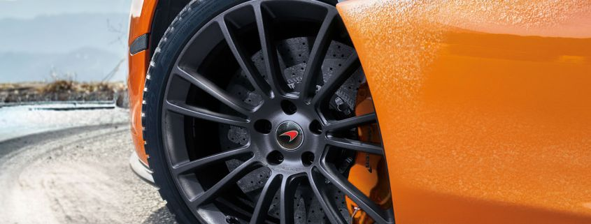 You can now buy winter tyres for your McLaren