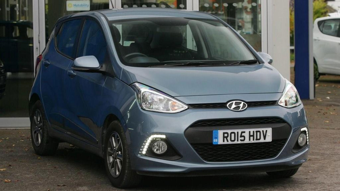 City car winner: Hyundai i10 (2014-present)