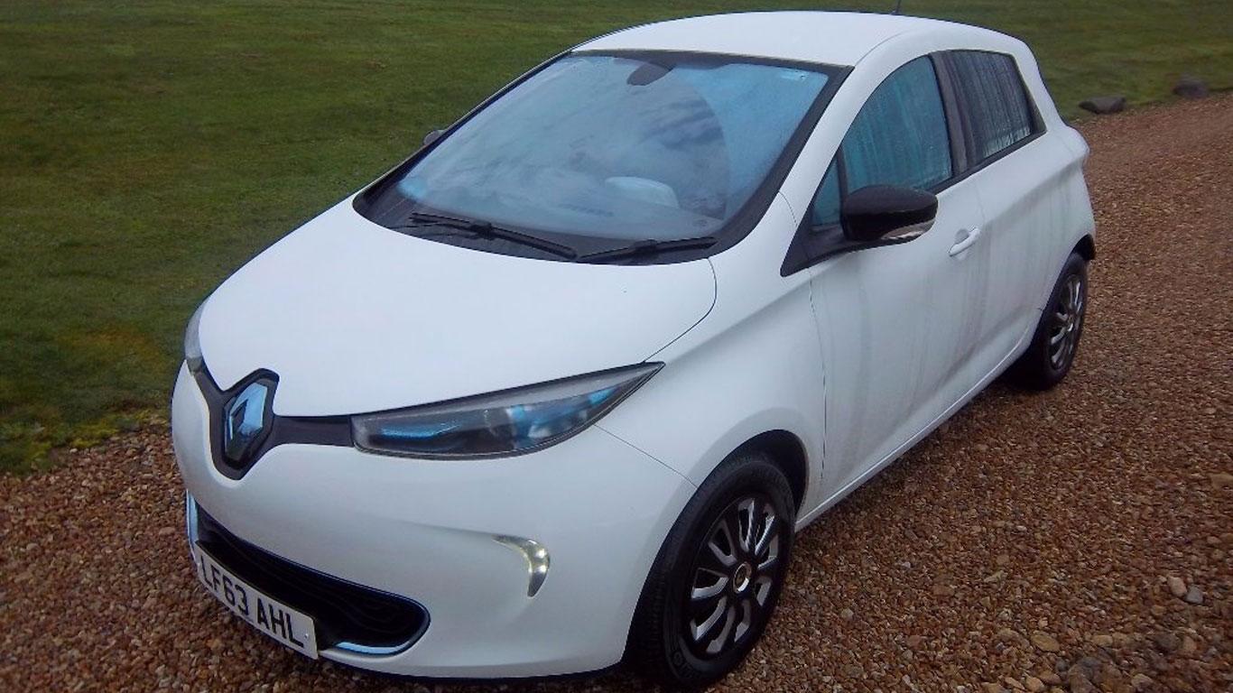 Green car winner: Renault Zoe (2013-present)