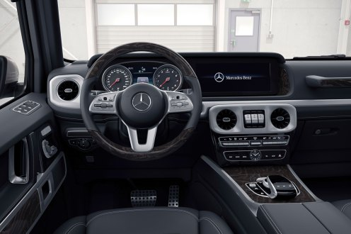 Mercedes-Benz G-Class interior