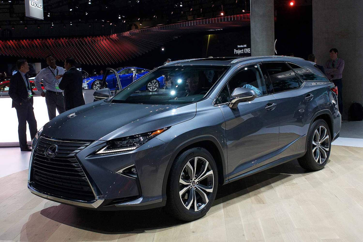 Lexus 3rd Row >> Lexus Rx Gains Third Row Additional Safety At La Motoring Research