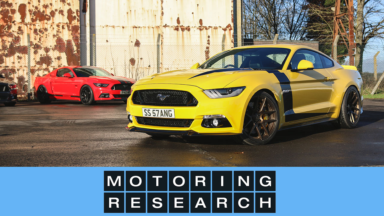 Modified Mustangs In Action Velgen Society Uk Motoring