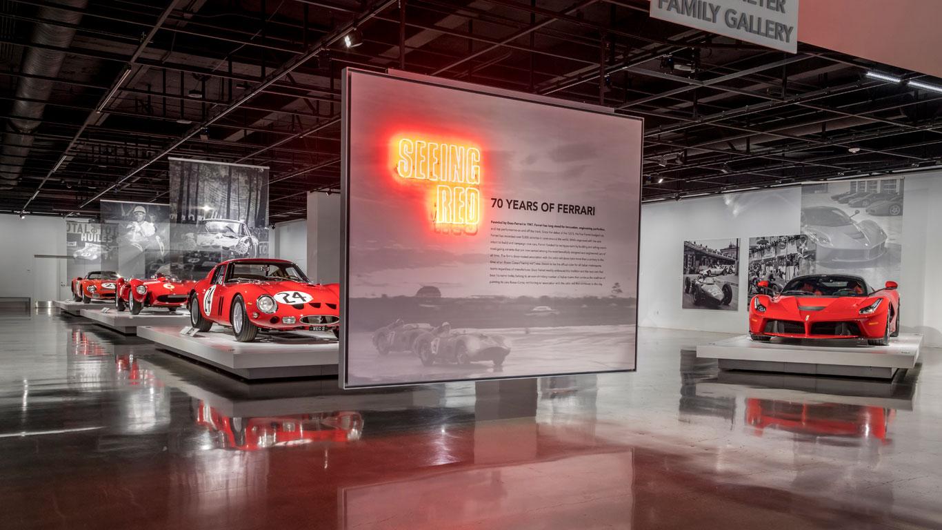 Seeing Red: 70 Years of Ferrari
