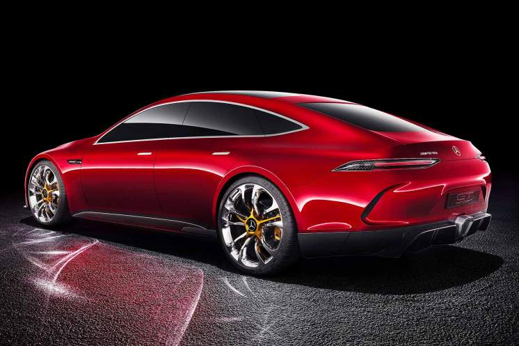 Mercedes-AMG GT Concept four-door