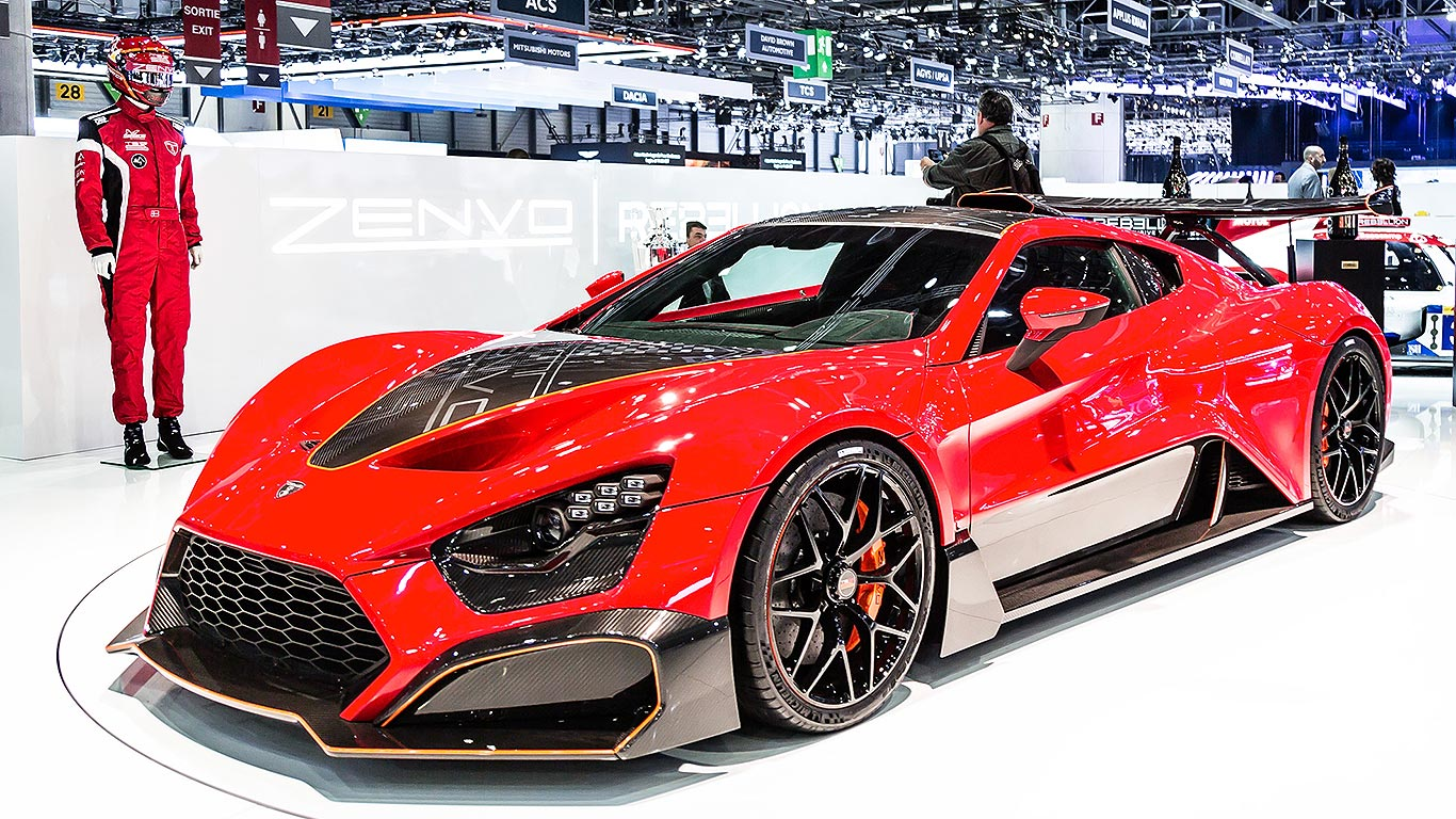 Revealed Geneva S Most Extreme New Supercars