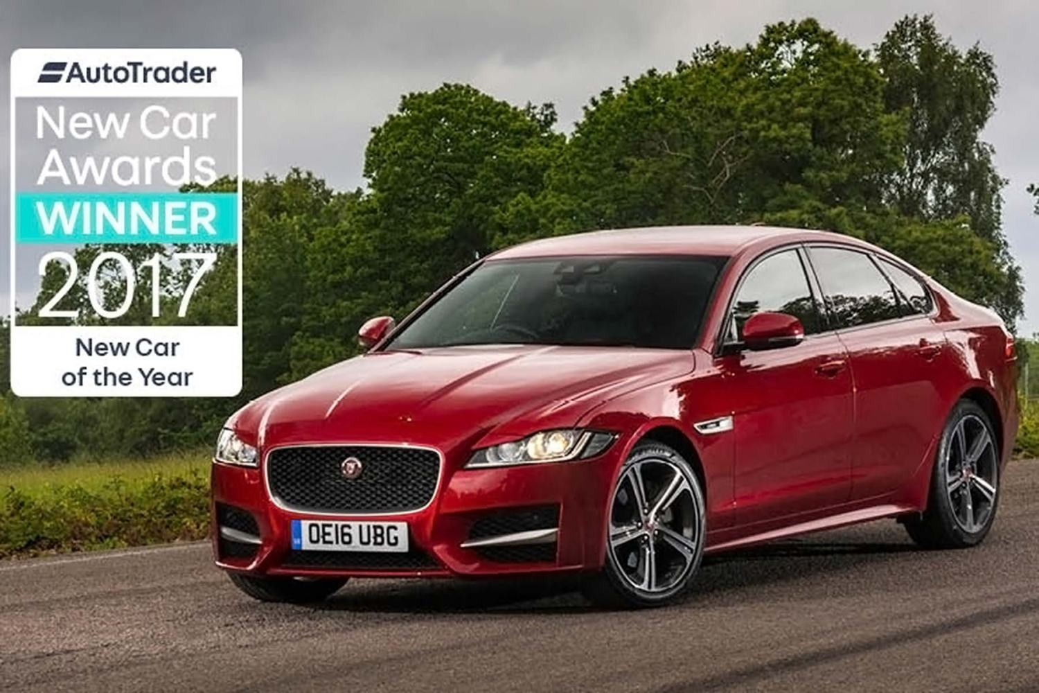 Auto Trader New Car of the Year 2017 - the Jaguar XF