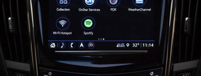 Spotify in Cadillac