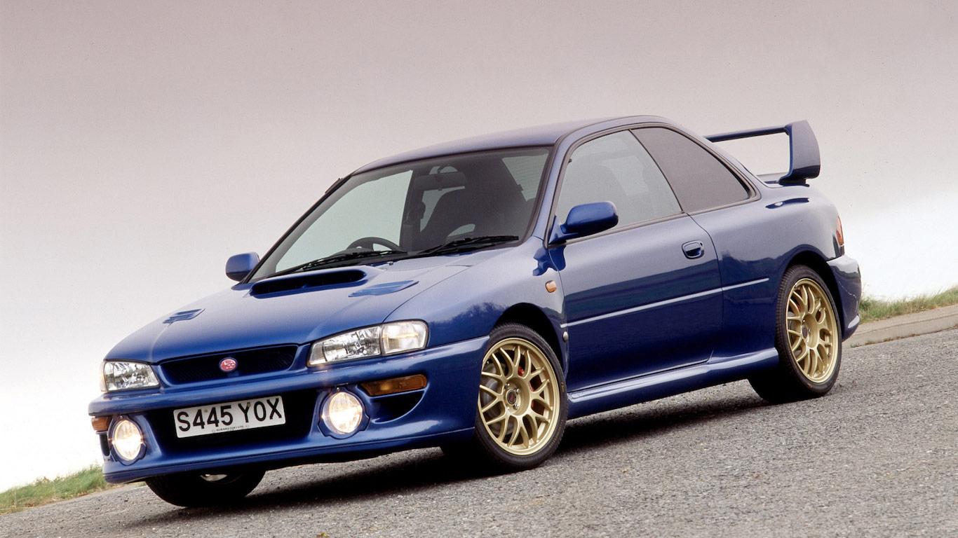 1998 Subaru Impreza 22B