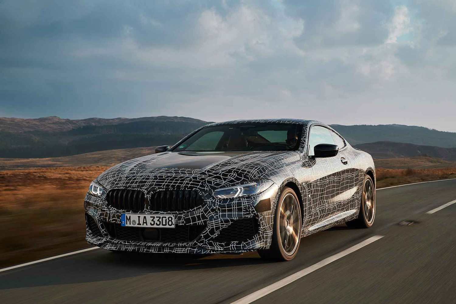 BMW 8 Series Coupe in Wales