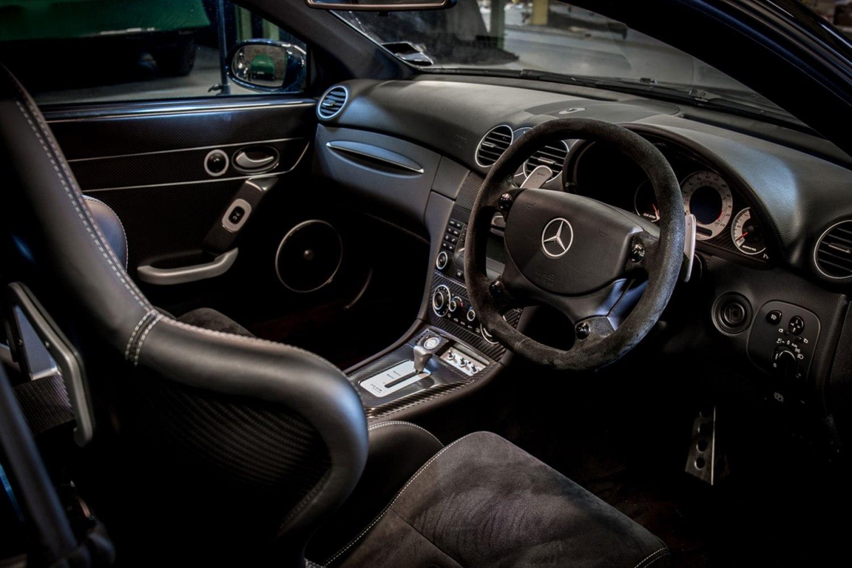 Mercedes-Benz CLK DTM AMG interior