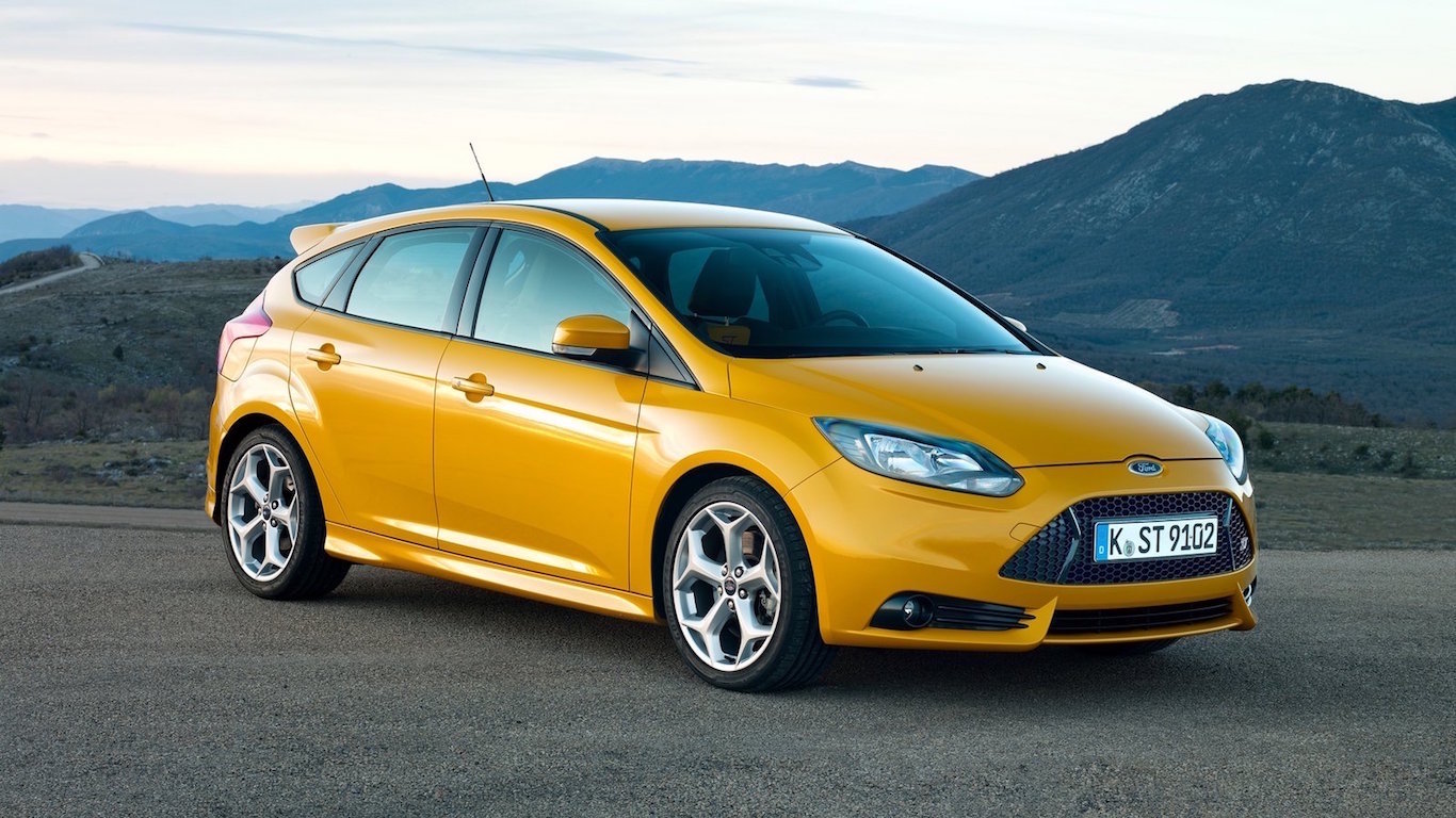 Ford Focus 20 years