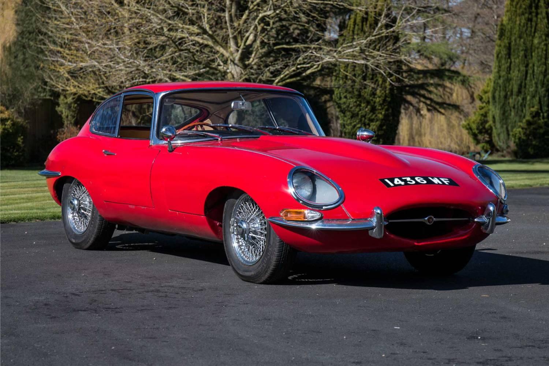 Rare 100th Jaguar E-Type for Auction