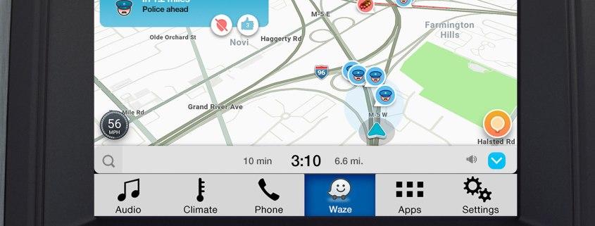 Waze on Ford Sync AppLink