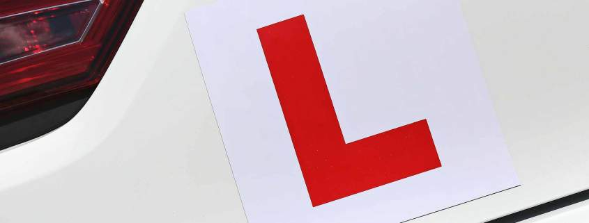 Learner drivers can legally use motorways