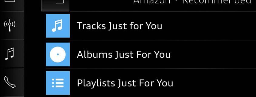 Amazon Music Audi