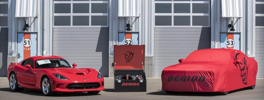Dodge sells final Viper and SRT Demon at auction