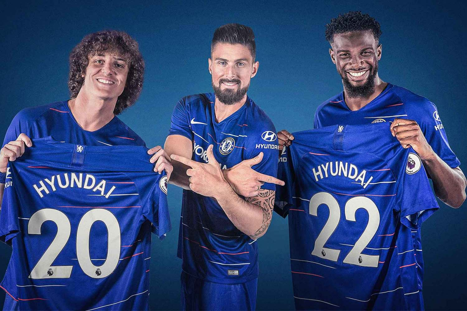 f7bd9745e55 Hyundai and Chelsea Hyundai has become the official global automotive  partner of Chelsea Football Club ...