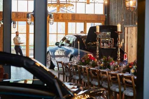 Rolls-Royce cars and cognac