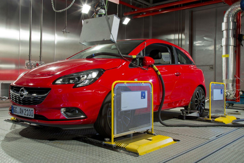 Vauxhall/Opel WLTP testing