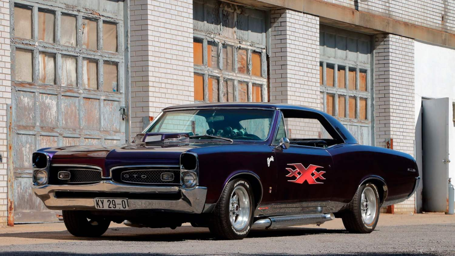 1967 Pontiac GTO XXX Promotional Car