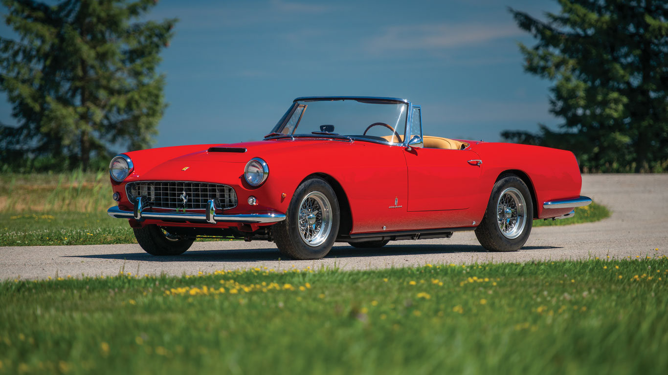 Fabulous Ferraris set to sell for millions