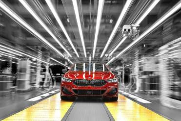 BMW 8 Series Coupe at Dingolfing