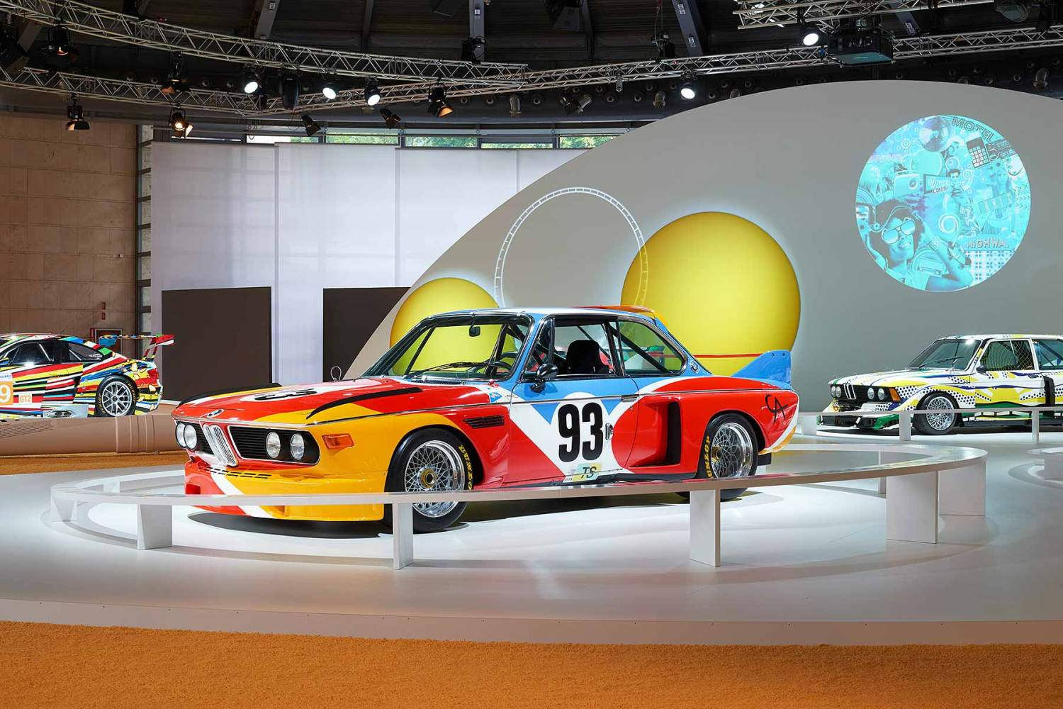 BMW 3.0 CSL art car by Alexander Calder