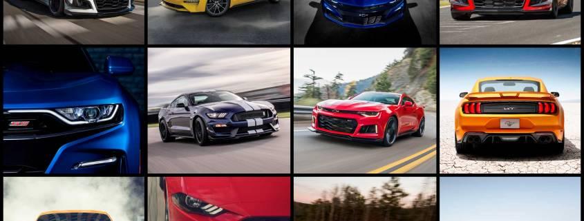 Mustang v Camaro new for 2019
